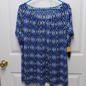 NWT Wothington Woman Blouse Size 2X